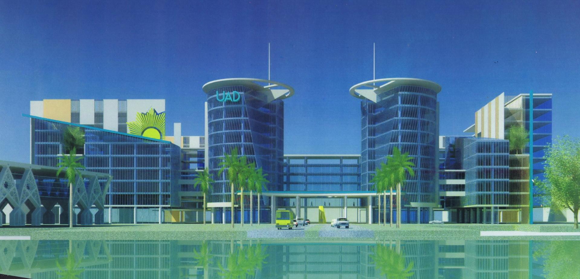 Desain Kampus Terpadu Universitas Ahmad Dahlan | UAD, kalender uad