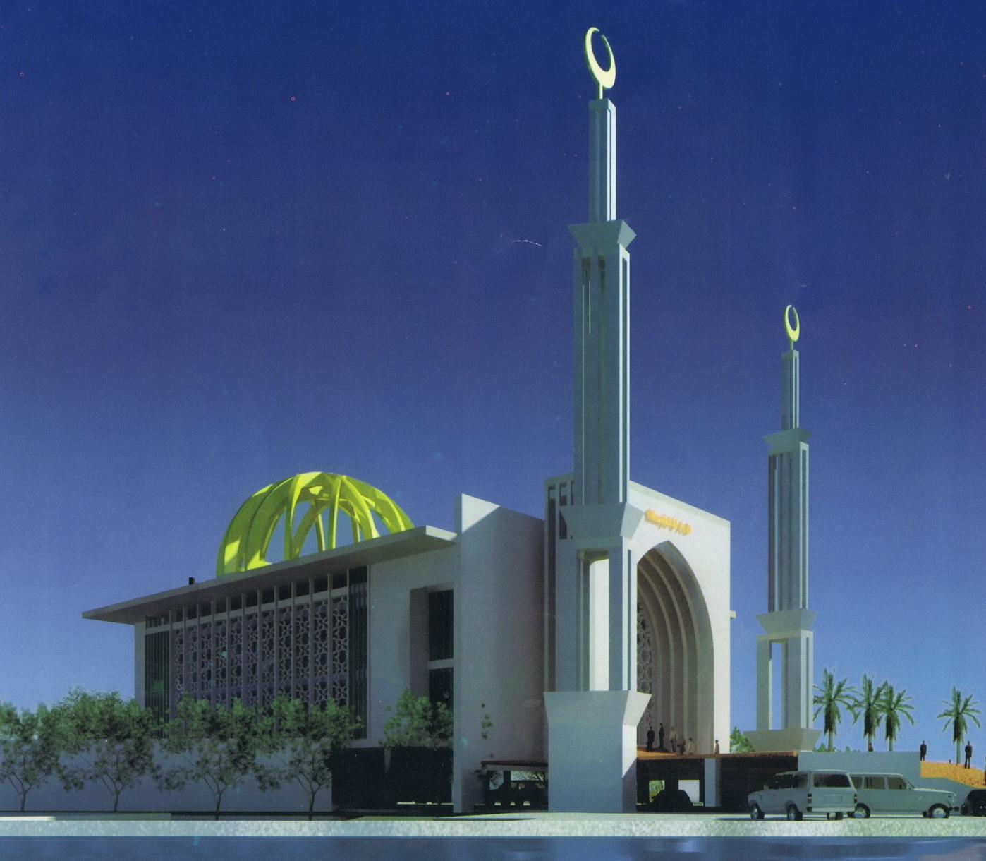 Desain Masjid Kampus Terpadu Universitas Ahmad Dahlan | UAD